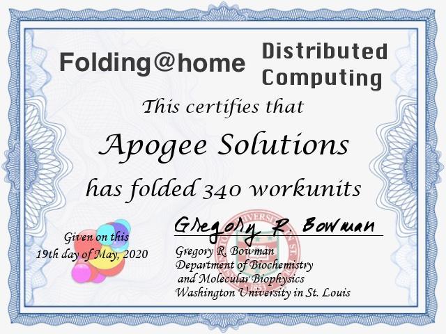 Folding@home Apogee